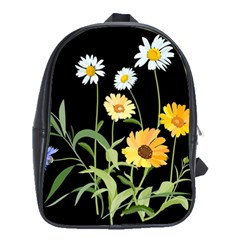 Flowers Of The Field School Bags(large)