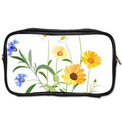 Flowers Flower Of The Field Toiletries Bags 2 Side by Nexatart