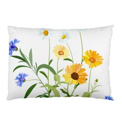 Flowers Flower Of The Field Pillow Case (two Sides) by Nexatart