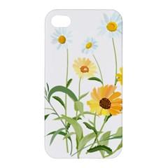 Flowers Flower Of The Field Apple Iphone 4/4s Premium Hardshell Case by Nexatart