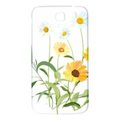 Flowers Flower Of The Field Samsung Galaxy Mega I9200 Hardshell Back Case