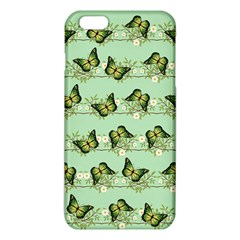 Green Butterflies Iphone 6 Plus/6s Plus Tpu Case by linceazul
