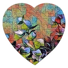 Spring Flowers Magic Cube Jigsaw Puzzle (heart) by DeneWestUK