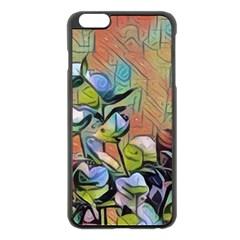 Spring Flowers Magic Cube Apple Iphone 6 Plus/6s Plus Black Enamel Case by DeneWestUK