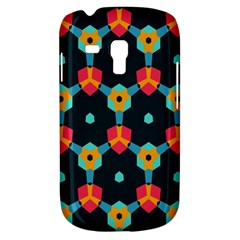 Connected shapes pattern    Samsung Galaxy Ace Plus S7500 Hardshell Case by LalyLauraFLM