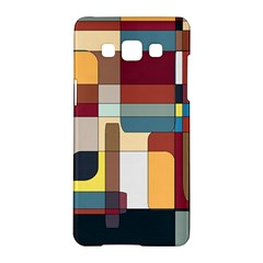 Patchwork Samsung Galaxy A5 Hardshell Case  by theunrulyartist