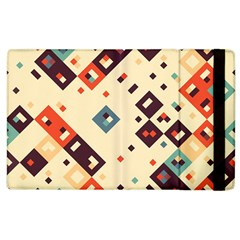 Squares In Retro Colors   Kindle Fire (1st Gen) Flip Case by LalyLauraFLM