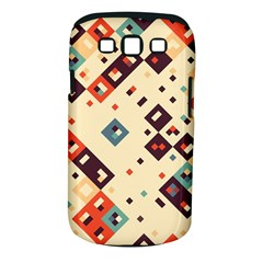 Squares in retro colors   Samsung Galaxy S II i9100 Hardshell Case (PC+Silicone) by LalyLauraFLM