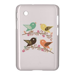 Four Birds Samsung Galaxy Tab 2 (7 ) P3100 Hardshell Case  by linceazul