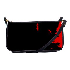 Abstraction Shoulder Clutch Bags by Valentinaart
