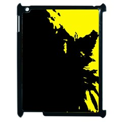 Abstraction Apple Ipad 2 Case (black) by Valentinaart