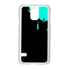Abstraction Samsung Galaxy S5 Case (white) by Valentinaart