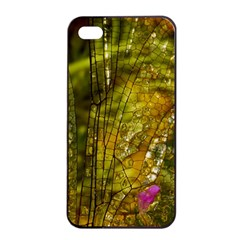 Dragonfly Dragonfly Wing Insect Apple Iphone 4/4s Seamless Case (black) by Nexatart