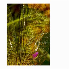 Dragonfly Dragonfly Wing Insect Small Garden Flag (two Sides) by Nexatart