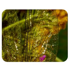 Dragonfly Dragonfly Wing Insect Double Sided Flano Blanket (medium)  by Nexatart