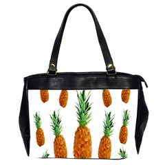 Pineapple Print Polygonal Pattern Office Handbags (2 Sides)  by Nexatart