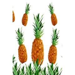 Pineapple Print Polygonal Pattern 5 5  X 8 5  Notebooks by Nexatart