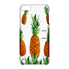 Pineapple Print Polygonal Pattern Apple Ipod Touch 5 Hardshell Case With Stand by Nexatart
