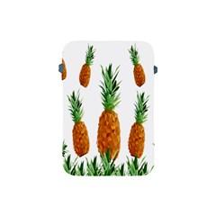Pineapple Print Polygonal Pattern Apple Ipad Mini Protective Soft Cases by Nexatart