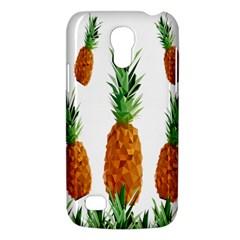 Pineapple Print Polygonal Pattern Galaxy S4 Mini by Nexatart