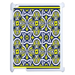 Tiles Panel Decorative Decoration Apple Ipad 2 Case (white) by Nexatart