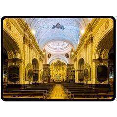 Church The Worship Quito Ecuador Double Sided Fleece Blanket (large)  by Nexatart