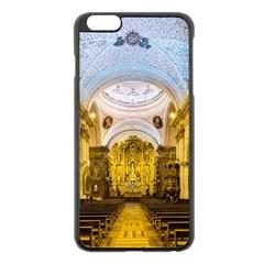 Church The Worship Quito Ecuador Apple Iphone 6 Plus/6s Plus Black Enamel Case by Nexatart