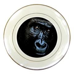 Gorilla Porcelain Plates by Valentinaart