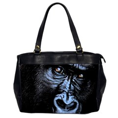 Gorilla Office Handbags (2 Sides)  by Valentinaart