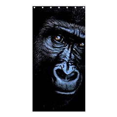 Gorilla Shower Curtain 36  X 72  (stall)  by Valentinaart