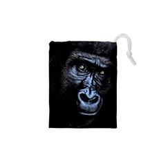 Gorilla Drawstring Pouches (xs)  by Valentinaart