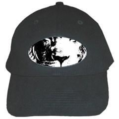 Lion  Black Cap by Valentinaart