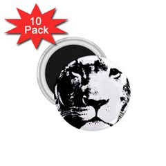 Lion  1 75  Magnets (10 Pack)  by Valentinaart