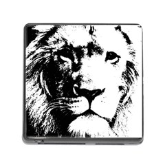 Lion  Memory Card Reader (square) by Valentinaart
