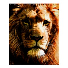 Lion  Shower Curtain 60  X 72  (medium)  by Valentinaart