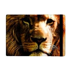 Lion  Apple Ipad Mini Flip Case by Valentinaart