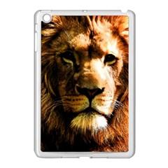 Lion  Apple Ipad Mini Case (white) by Valentinaart