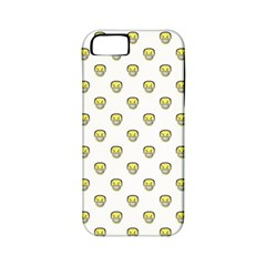 Angry Emoji Graphic Pattern Apple Iphone 5 Classic Hardshell Case (pc+silicone) by dflcprints