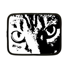Cat Netbook Case (Small)  by Valentinaart
