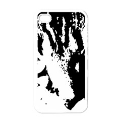 Cat Apple Iphone 4 Case (white) by Valentinaart