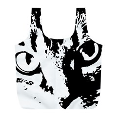 Lion  Full Print Recycle Bags (l)  by Valentinaart