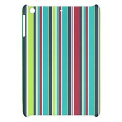Colorful Striped Background  Apple Ipad Mini Hardshell Case by TastefulDesigns
