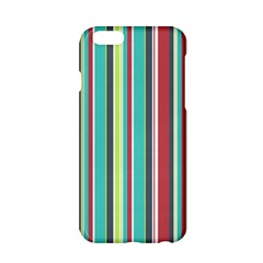 Colorful Striped Background  Apple Iphone 6/6s Hardshell Case by TastefulDesigns
