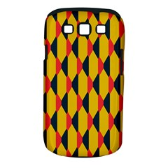 Triangles pattern Samsung Galaxy S II i9100 Hardshell Case (PC+Silicone) by LalyLauraFLM