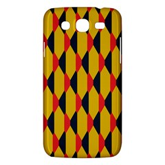 Triangles pattern Samsung Galaxy Duos I8262 Hardshell Case by LalyLauraFLM