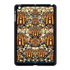 Lady Panda Goes Into The Starry Gothic Night Apple Ipad Mini Case (black) by pepitasart