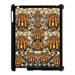 Lady Panda Goes Into The Starry Gothic Night Apple Ipad 3/4 Case (black) by pepitasart