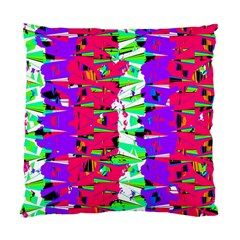 Colorful Glitch Pattern Design Standard Cushion Case (one Side) by dflcprints