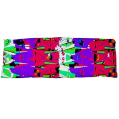 Colorful Glitch Pattern Design Body Pillow Case (dakimakura) by dflcprints