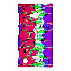 Colorful Glitch Pattern Design Nokia Lumia 720 by dflcprints